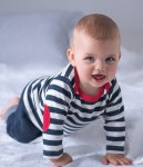 BabyBugz Baby Long Sleeve Stripy T-Shirt