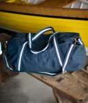 Front Row Canvas Holdall